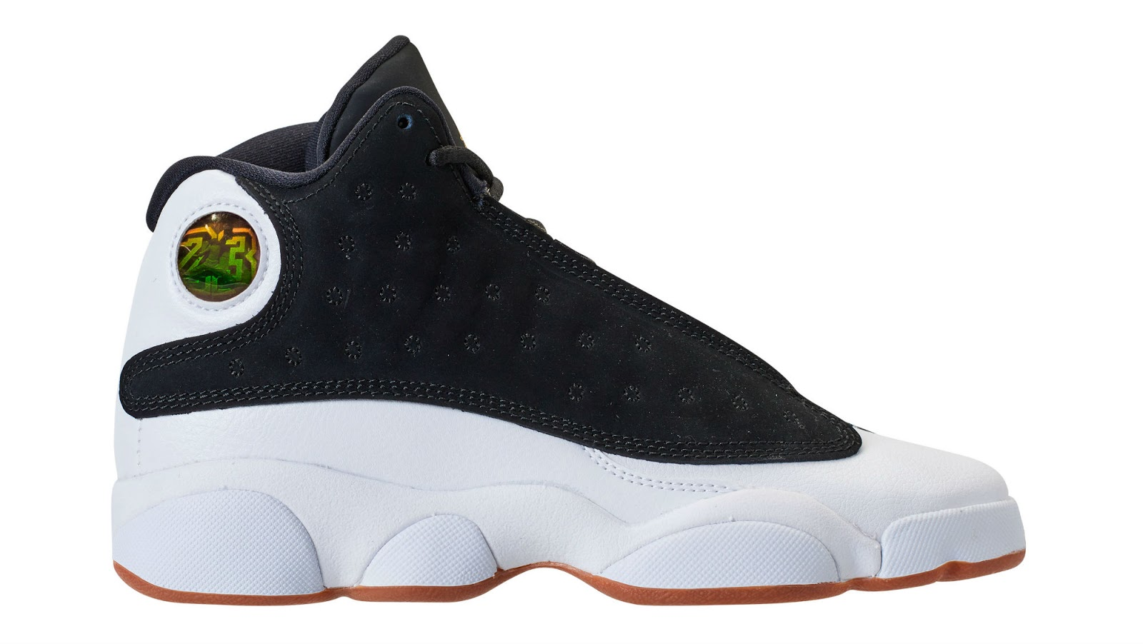 5e71d0d9078c Air Jordan 13 Retro GG Release Date  02 24 18. Color  Black Metallic  Gold-White-Gum Medium Brown Style    439358-021. Price   140