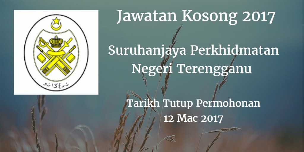 Jawatan Kosong SPN Terengganu 12 Mac 2017