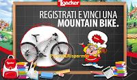 Logo Quizzolo Loacker: gioca gratis e vinci una Mountain Bike