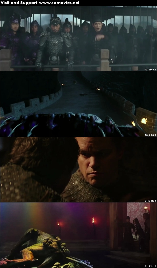 The Great Wall 2016 English 480 HC HDRip
