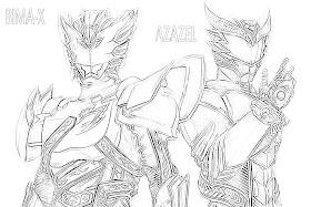 Mirzan Blog S 20 Ide Gambar Kartun Kamon Rider Hitam Putih