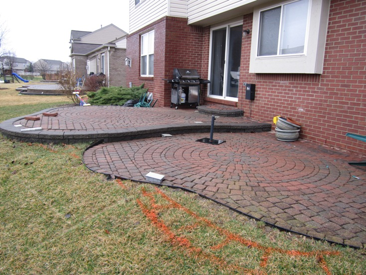 Brick Paver Patio Repair & Redesign in Canton, MI - Brick ...