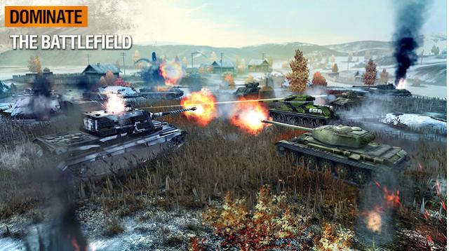 لعبة الأكشن والدبابات الأشهر World of Tanks Blitz للأندرويد والآيفون