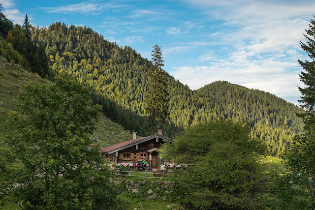 Unternberg Gipfeltour  Wandern Ruhpolding  Wanderung Chiemgau  Unternberg-Branderalm-Seehaus 09