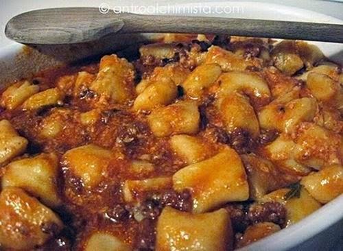 Gnocchi di Patate al Ragù nella Slow Cooker