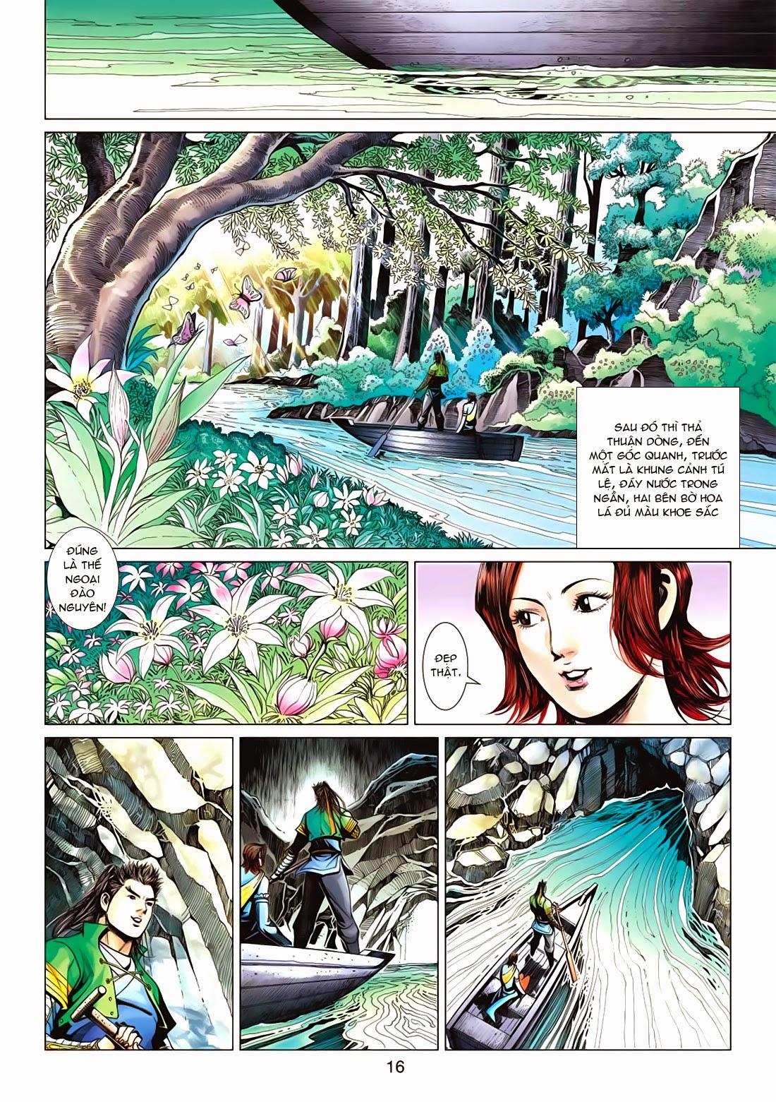Anh Hùng Xạ Điêu anh hùng xạ đêu chap 72: ngư tiều canh độc trang 16