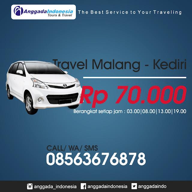 harga travel malang kediri