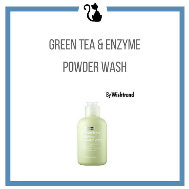 Proszek do mycia twarzy - enzymy i zielona herbata