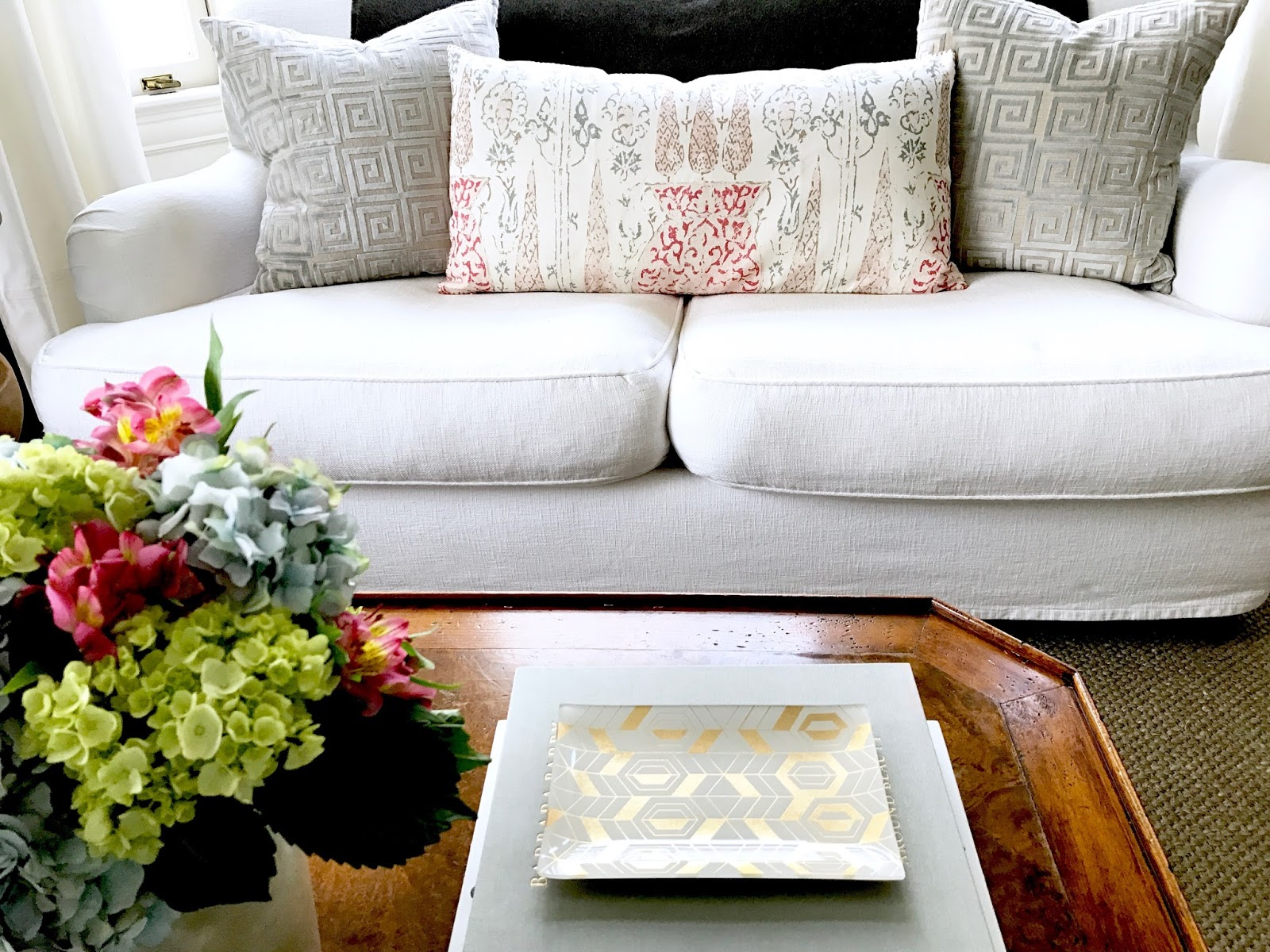 My Living Room Video Tour and A Designer Tip for Your Pillows ...
