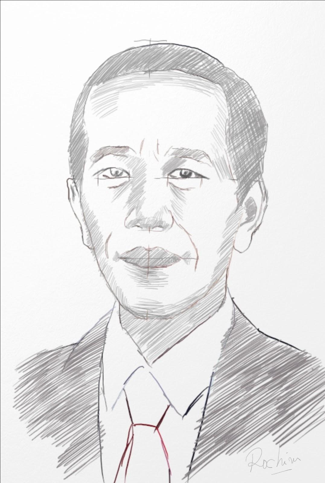 Cara Menggambar Wajah Manusia Dengan Mudah Dan Cepat Simple Sketch