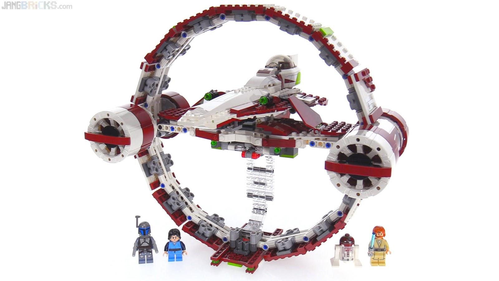 LEGO Star Wars Jedi Starfighter + Hyperdrive review 75191