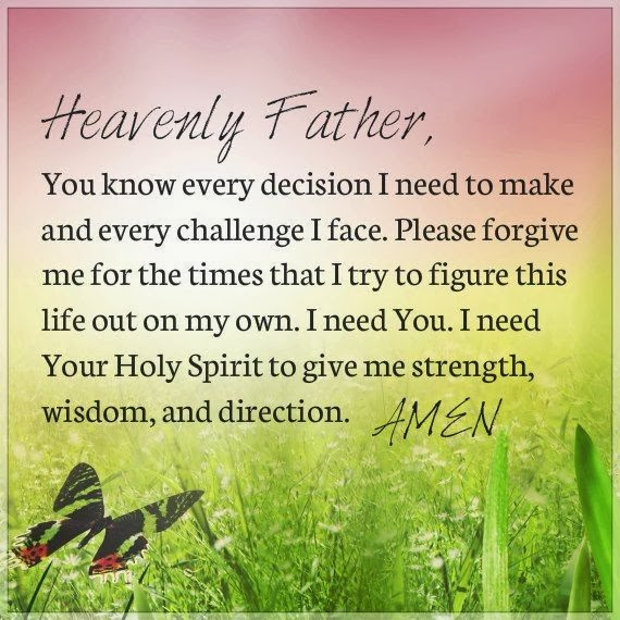 Prayer with Heavely Father