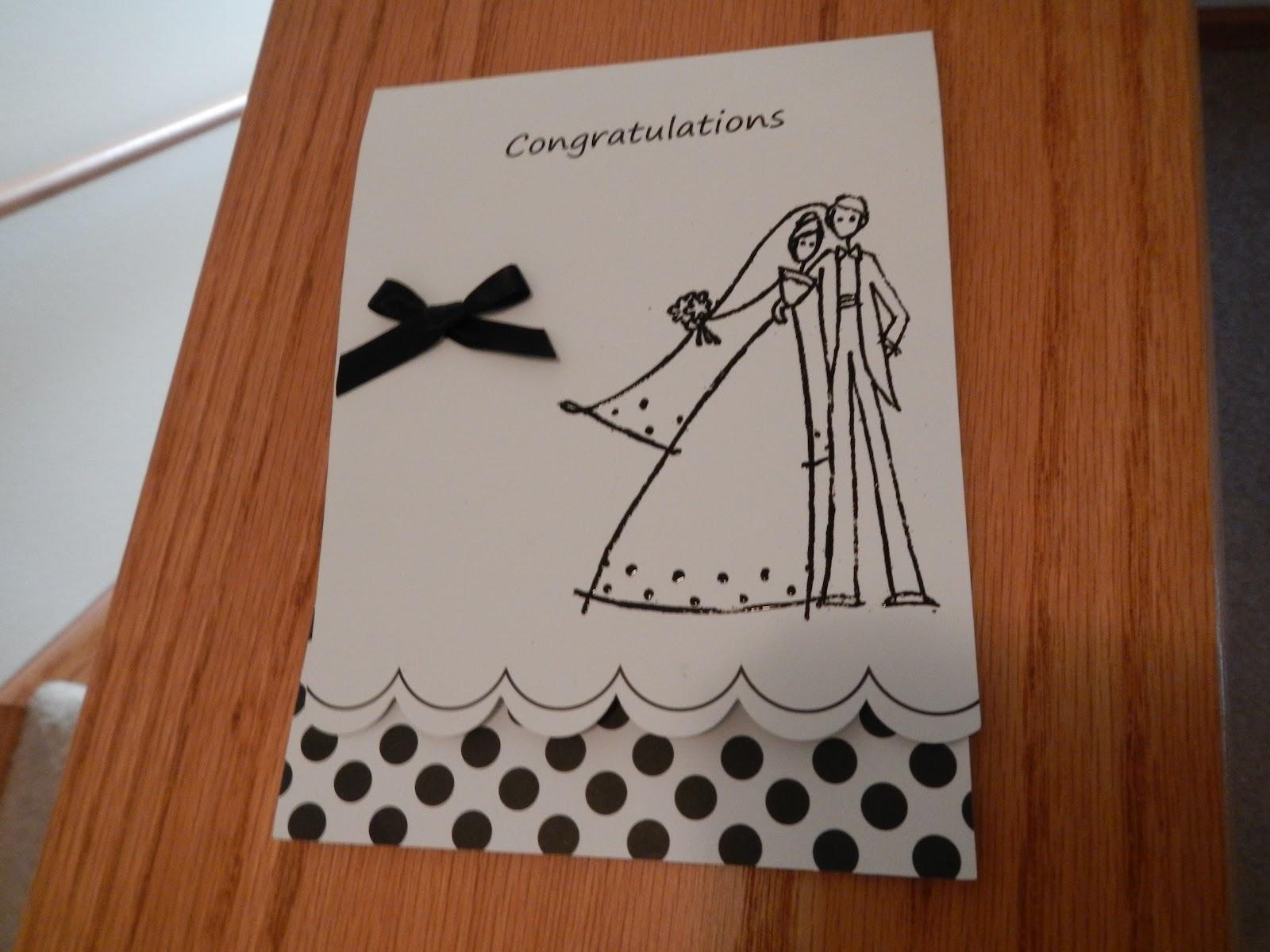 Hand Made Cards: Handmade Wedding Cards
