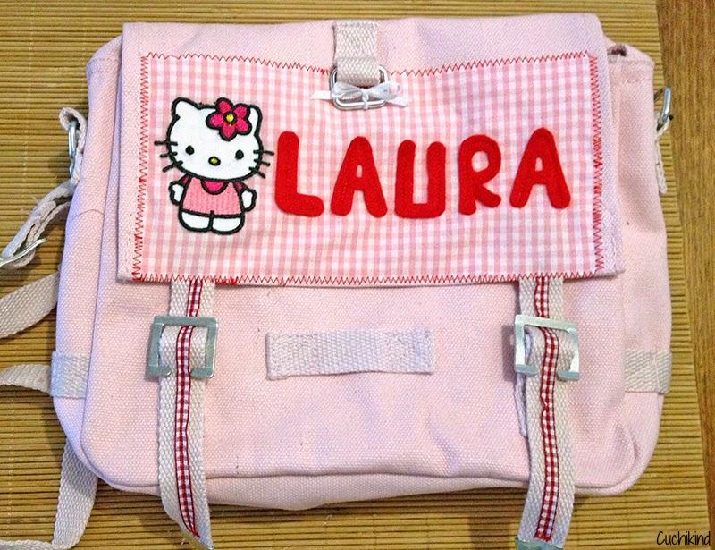 Kindergartentasche personalisieren