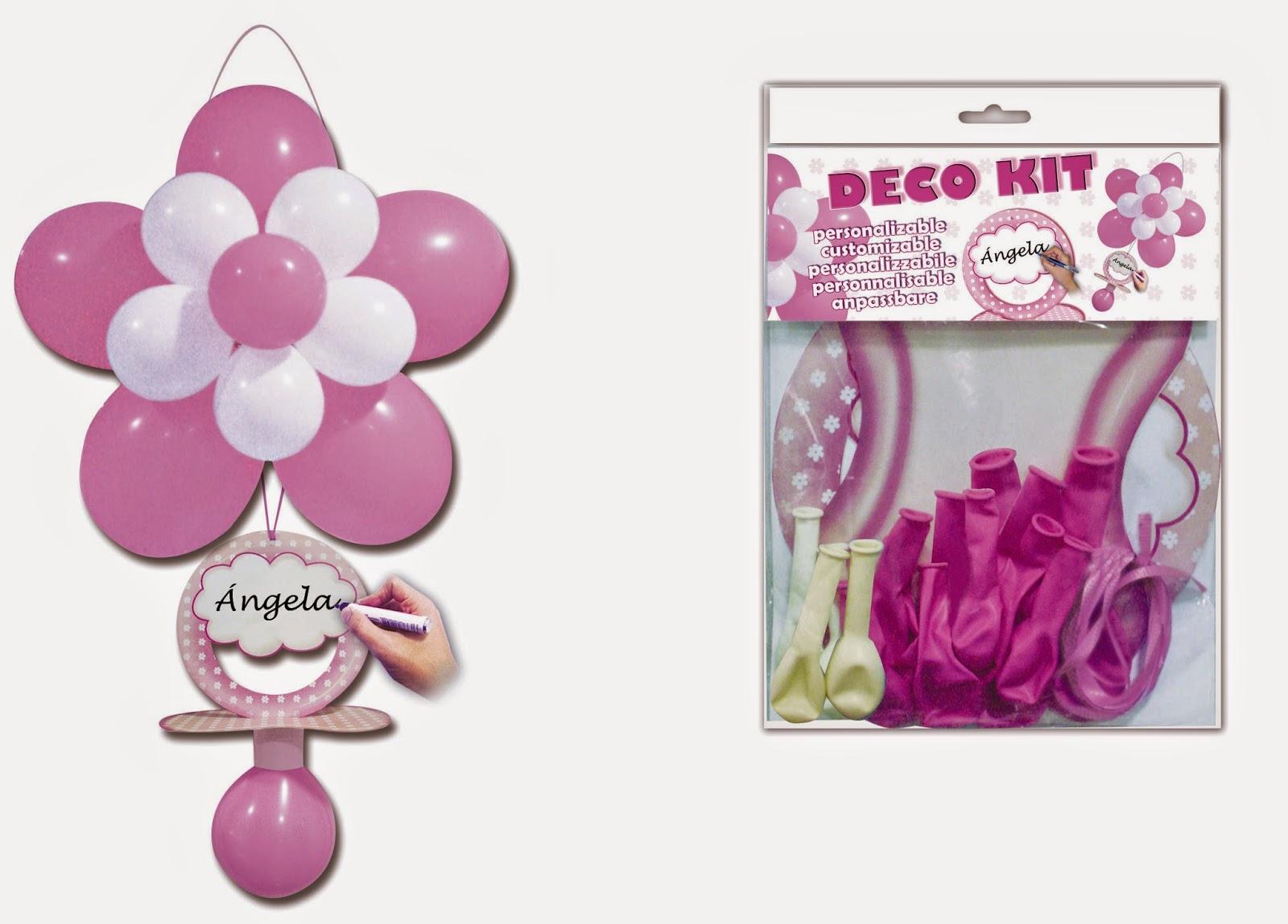 imagen globos para bautizos y fiestas