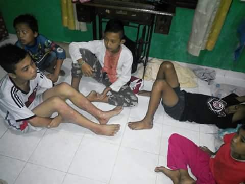 SADIS : Pria ini MELEMPARI Remaja Ronda Sahur Dengan BOM MOLOTOV, Hanya Karena… ….