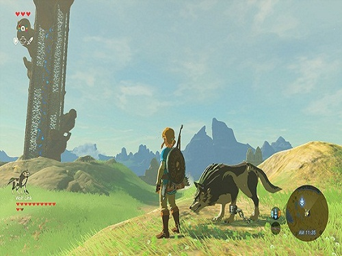 The Legend of Zelda Breath of the Wild Game