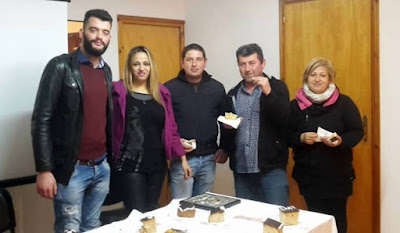 O Εμπορικός Σύλλογος Παραμυθιάς, έκοψε την πρωτοχρονιάτικη πίτα του
