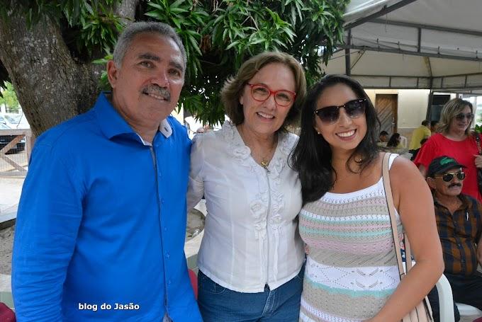 Vereadora Aize Bezerra participa do encontro dos Amigos de Zezinho do Quintal Dois em Extremoz.