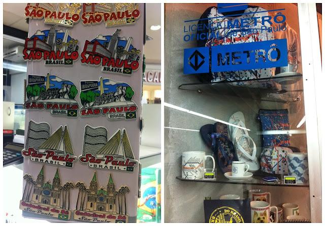 Onde comprar souvenir de/em São Paulo?