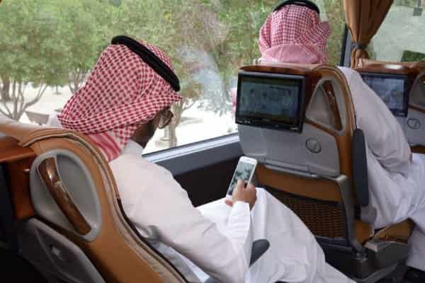 SAPTCO ANNOUNCES NEW LUXURY BUSES BETWEEN SAUDI CITIES