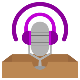 Podcast 3D Logo Folder Icon