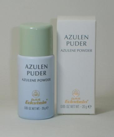 dr eckstein azulene powder azulen puder 20 g abella. Black Bedroom Furniture Sets. Home Design Ideas