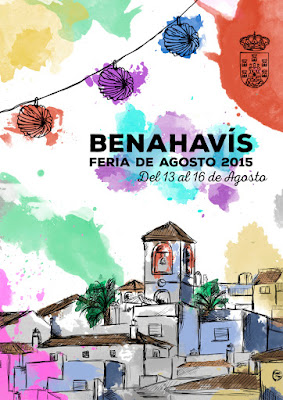 BENAHAVIS Feria de Agosto 2015 Lorena Álvarez
