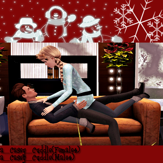 My Sims 3 Poses: Christmas Pose Pack