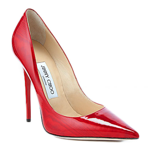 b7734c3a2496 JIMMY CHOO ANOUK MOIRE RED PATENT - Reed Fashion Blog