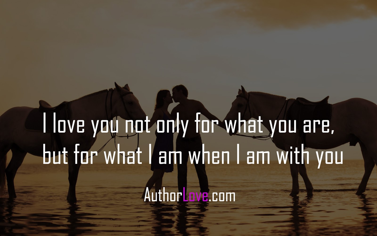 I Love You Quotes I Love You Not Only For What You Are  Love Quotes  Author Love