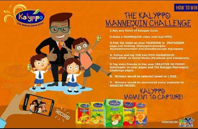 "Kalyppo to reward customers in a ""MANNEQUIN CHALLENGE"""