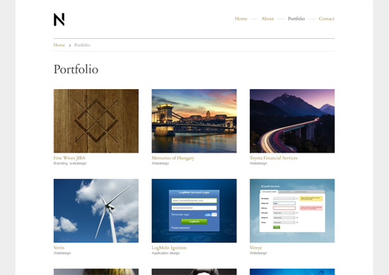 Web Designer Portfolio HTML+CSS+PSD by kaisersosa ...