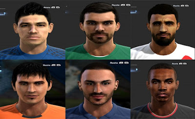 Facepack Pes 2013 By Giallo