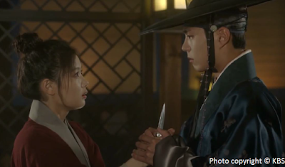 Love in the Moonlight, Moonlight Drawn By Clouds, Kim You Jung, Hong Ra On, Hong Sam Nom, Lee Yeong, Park Bo Gum, eternity bracelet, best scene, Ep15