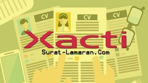 Info Lowongan Kerja PT. Xacti Indonesia || Surat - Lamaran