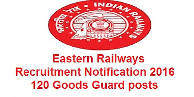 Eastern railway recruitment 2016