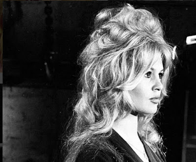 Brigitte Bardot kapsel Bouffant