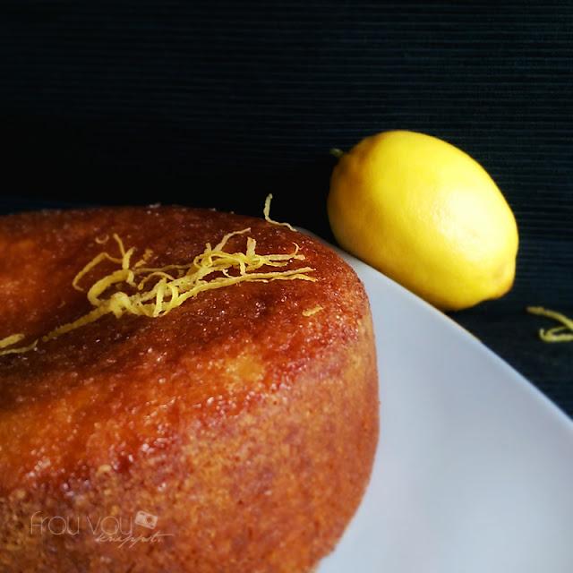 Lemon Drizzle Cake - ein Rezept zum Sonntagsglück @frauvau.blogspot.de