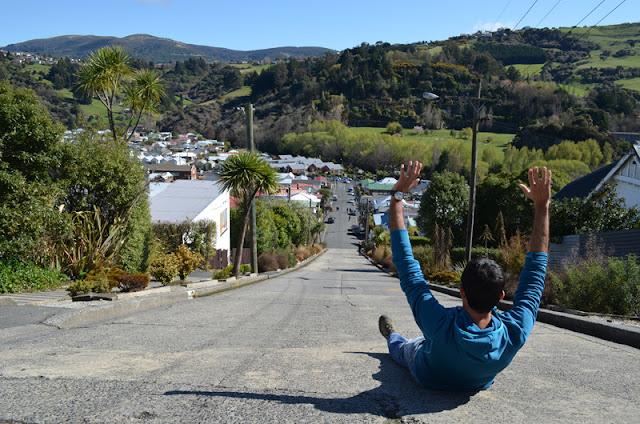 Dia 3: Baldwin Street (El carrer més empinat del món), operació antifred i Te Anau