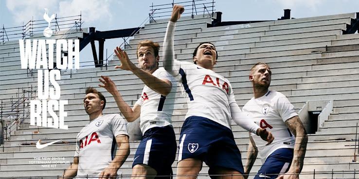 01de6dfcd Nike Tottenham Hotspur 17-18 Home Kit Released - Footy Headlines