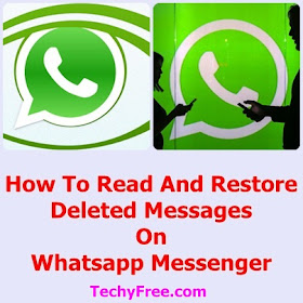 How to read and restore deleted messages on WhatsApp