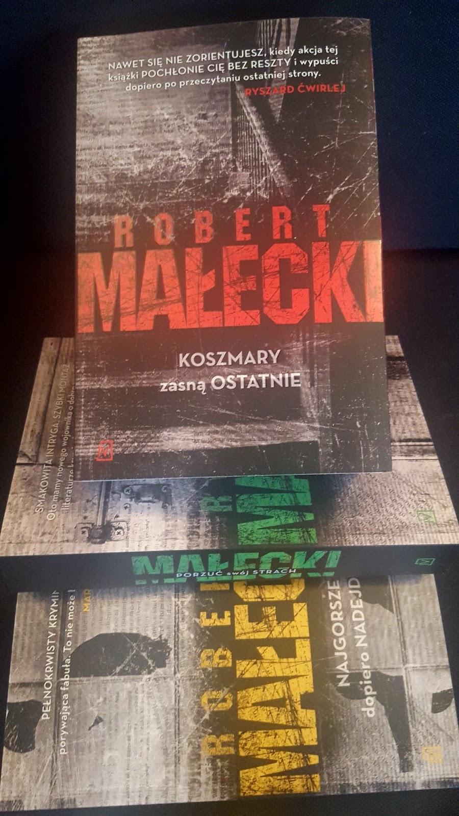 Robert Małecki - Koszmary zasną ostatnie