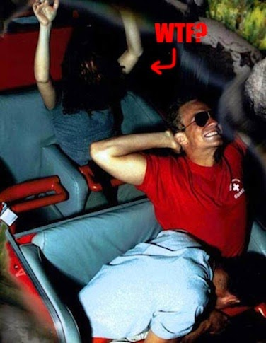 Agree, girls flashing on roller coaster