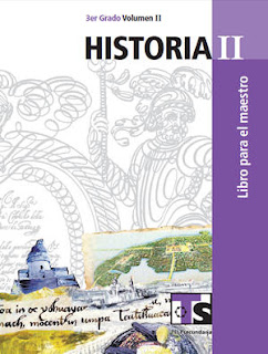 Libro de TelesecundariaHistoriaIITercer gradoVolumen IILibro para el Maestro2016-2017