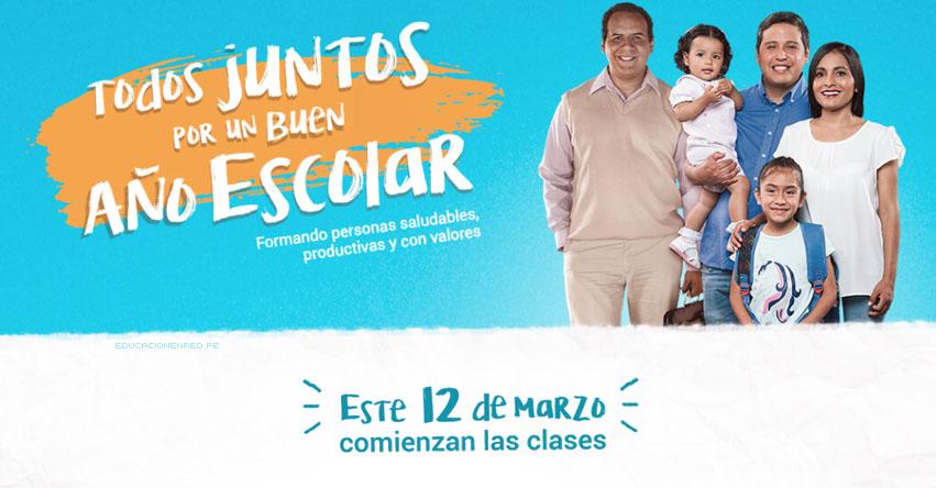 MINEDU: Este Lunes 12 de Marzo comienzan las clases a nivel nacional - www.minedu.gob.pe