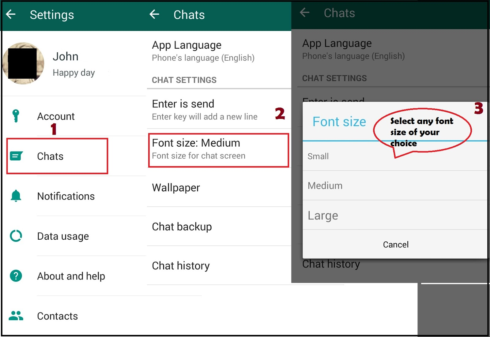 how to put whatsapp on comp