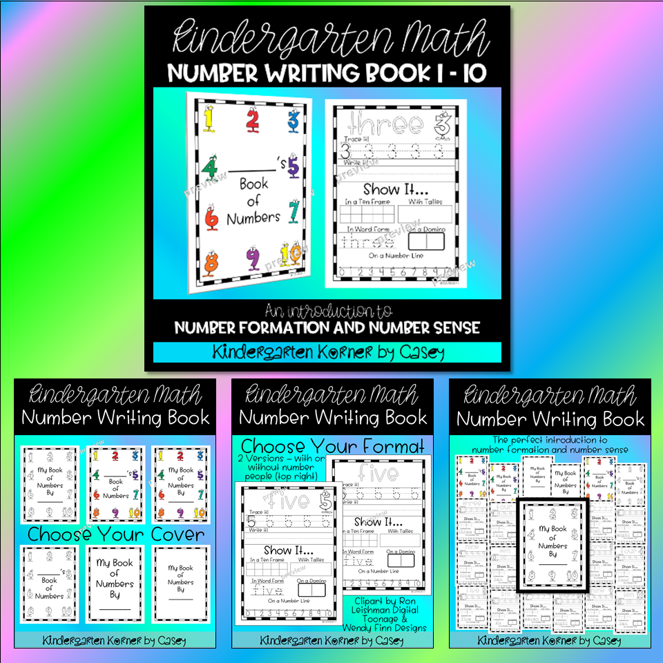 Kindergarten Korner by Casey: 10 MUST HAVES for the BEGINNING OF THE ...