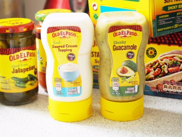 old el paso condiments