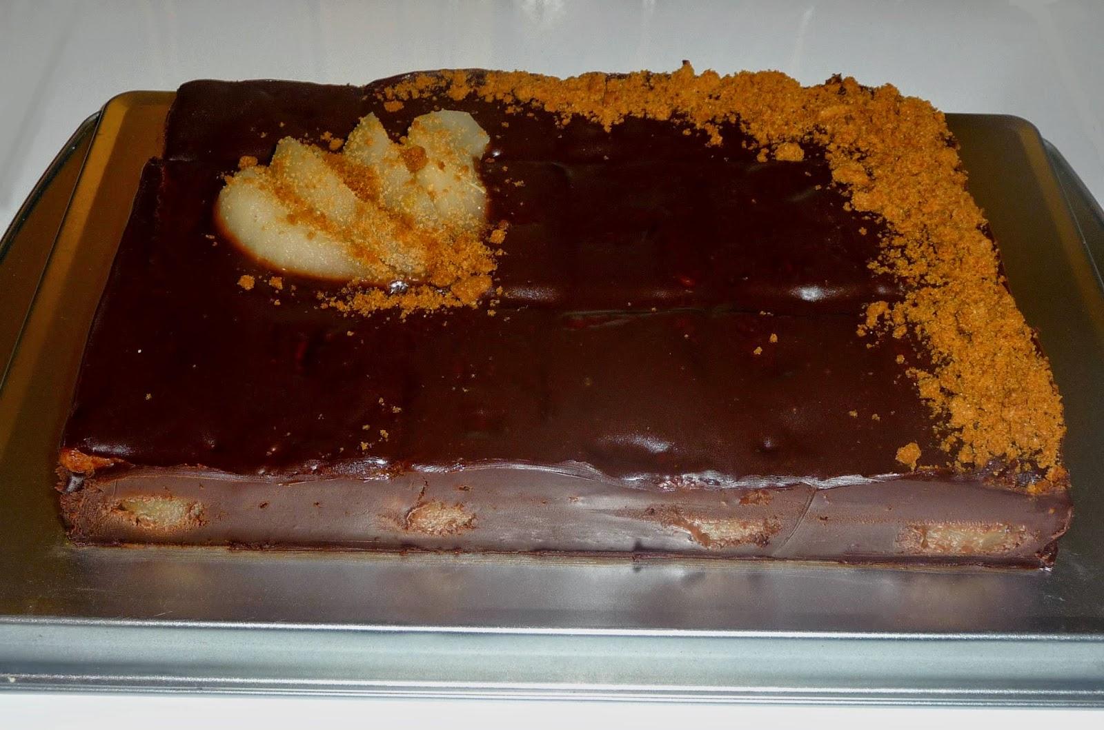 Cuillere Aiguille Et Scie Sauteuse Gateau Fondant Poire Chocolat